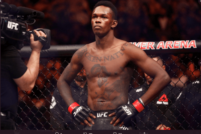 Israel Adesanya will be Absent for a while